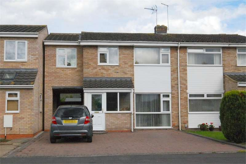 4 Bedrooms Semi Detached House for sale in Montague Road, Woodlands, RUGBY, Warwickshire
