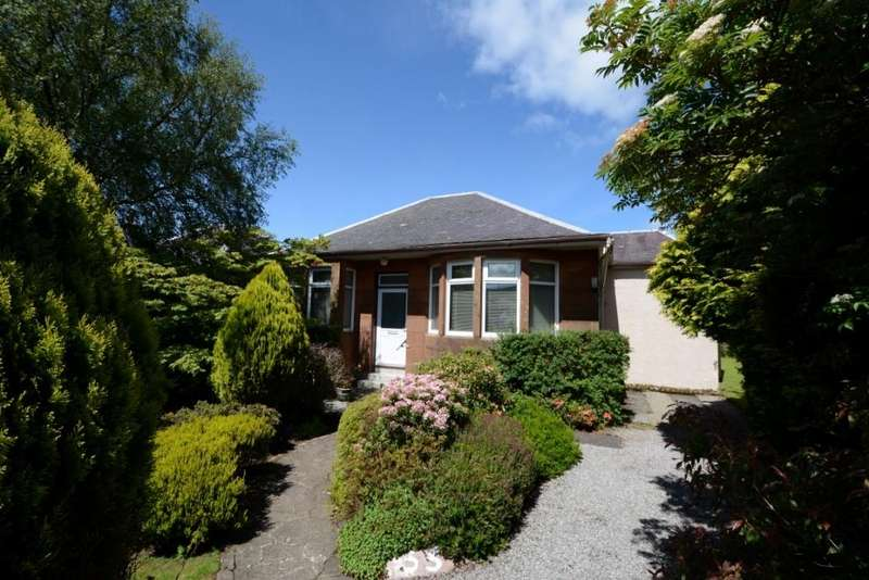 3 Bedrooms Detached Bungalow for sale in 33 Burnside Road, Largs, KA30 9BX