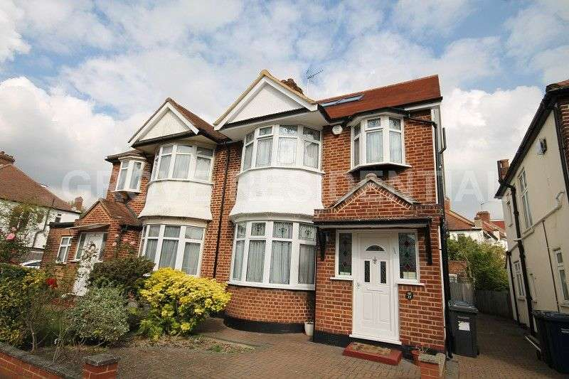 5 Bedrooms Semi Detached House for sale in Brook Avenue, Edgware