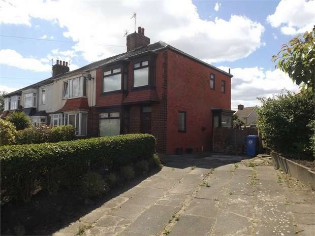 3 Bedrooms End Of Terrace House for sale in Bridge Road, Redcar, North Yorkshire