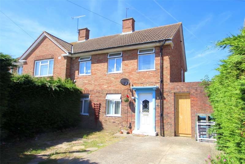 3 Bedrooms Semi Detached House for sale in Peveril Drive, Sompting, West Sussex, BN15