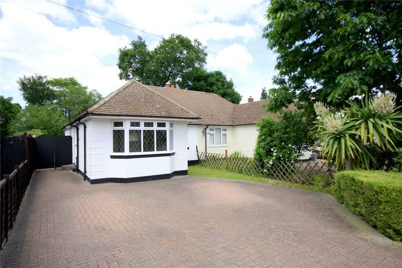 3 Bedrooms Semi Detached Bungalow for sale in Marley Close, Addlestone, Rowtown, Surrey, KT15