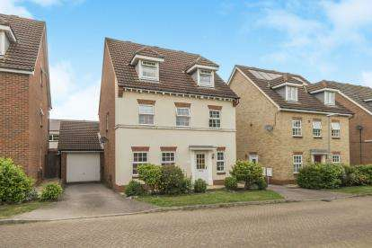 5 Bedrooms Detached House for sale in Chancellors, Arlesey, Bedfordshire, England