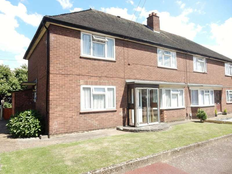 2 Bedrooms Maisonette Flat for sale in Radleys Mead, Dagenham, Essex, RM10 8SH