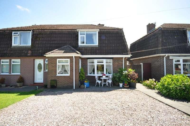 3 Bedrooms Semi Detached House for sale in The Mede, Freckleton, Preston, Lancashire, PR4 1JB