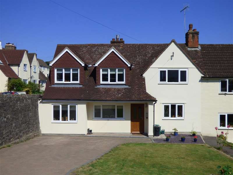 4 Bedrooms Semi Detached House for sale in Hardwick Avenue, Chepstow
