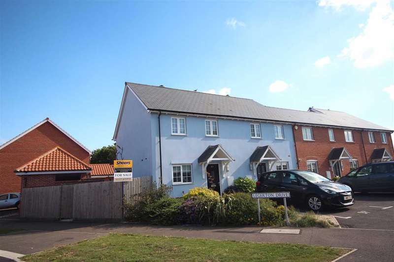 3 Bedrooms End Of Terrace House for sale in Legerton Drive, Clacton-On-Sea