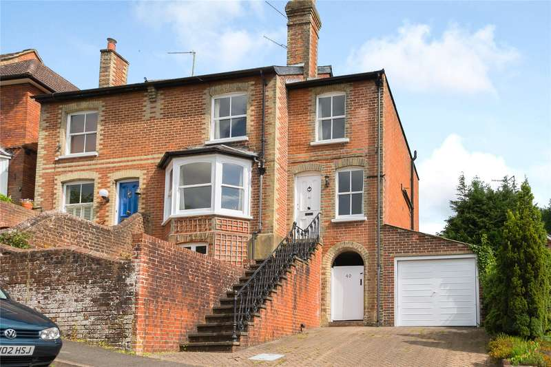 4 Bedrooms Semi Detached House for sale in Grove Road, Godalming, Surrey, GU7