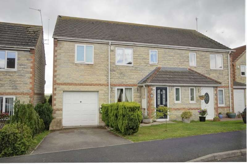 4 Bedrooms Semi Detached House for sale in Stuart Court, Consett, DH8