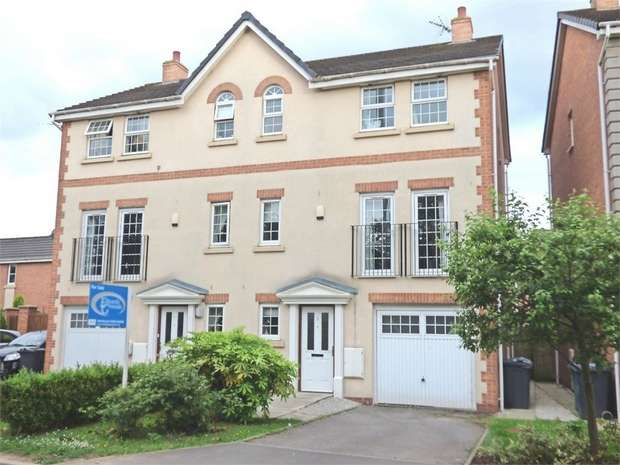 4 Bedrooms Town House for sale in Drayton Close, Great Sankey, Warrington, Cheshire