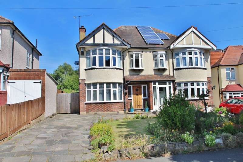 4 Bedrooms Semi Detached House for sale in Beresford Avenue, Berrylands