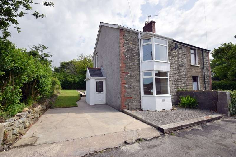3 Bedrooms Semi Detached House for sale in 2 Litchard Villas, The Derwen, Litchard, Bridgend, Bridgend County Borough, CF31 1EB.