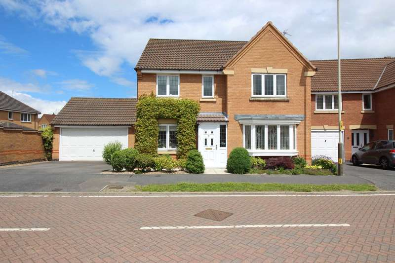 4 Bedrooms Detached House for sale in Broombriggs Road, Glenfield