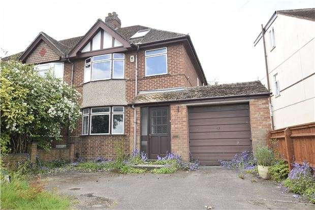 3 Bedrooms Semi Detached House for sale in Merewood Avenue, Headington, OXFORD, OX3 8EG