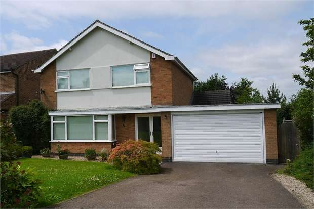 4 Bedrooms Detached House for sale in Stonehill Drive, Great Glen, LEICESTER