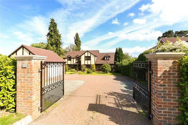 5 Bedrooms Detached House for sale in Blackberry Lane, Four Marks, Alton, Hampshire, GU34