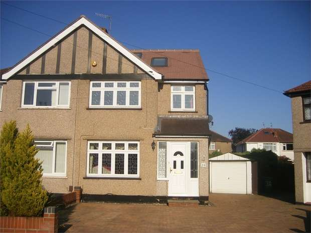 4 Bedrooms Semi Detached House for sale in Chatsworth Gardens, WEST HARROW