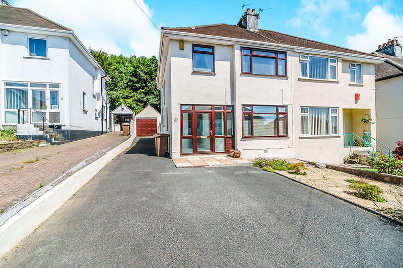 3 Bedrooms Semi Detached House for sale in Leighton Road, Plymouth, PL3