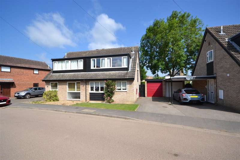 3 Bedrooms Semi Detached House for sale in Guntons Close, Soham