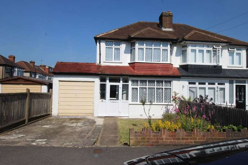 3 Bedrooms Semi Detached House for sale in Brocks Drive, Cheam, Sutton, SM3