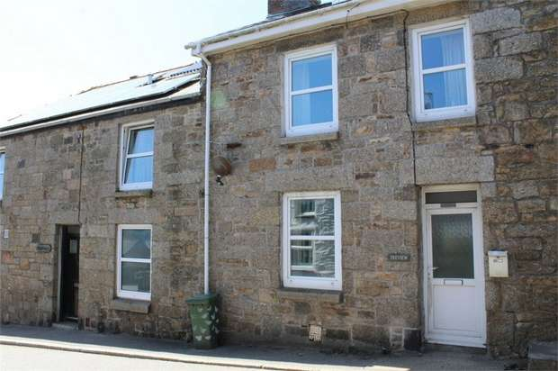 3 Bedrooms End Of Terrace House for sale in Chyandaunce, Gulval, Penzance, Cornwall