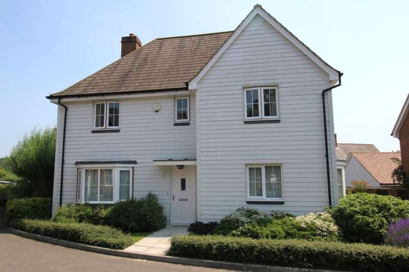 4 Bedrooms Detached House for sale in Noel Coward Gardens, Aldington, Ashford, TN25