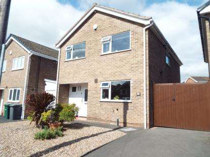 4 Bedrooms Detached House for sale in Newlands Drive, Gedling, Nottingham