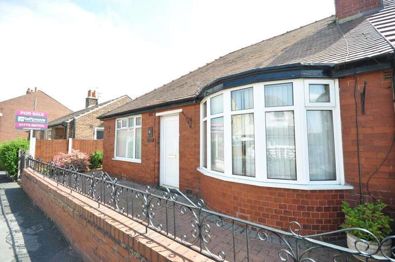 2 Bedrooms Semi Detached Bungalow for sale in Catherine Street, Wesham, Preston, Lancashire, PR4 3BP