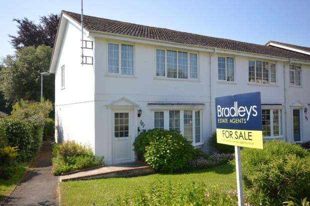 3 Bedrooms End Of Terrace House for sale in Cotmaton Road, Sidmouth, Devon