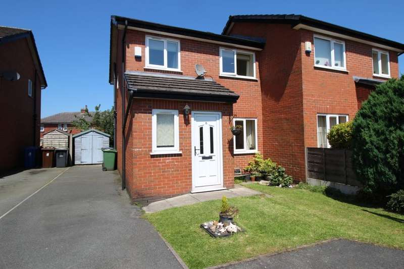 3 Bedrooms Semi Detached House for sale in St. Richards Close, Atherton, Manchester, M46