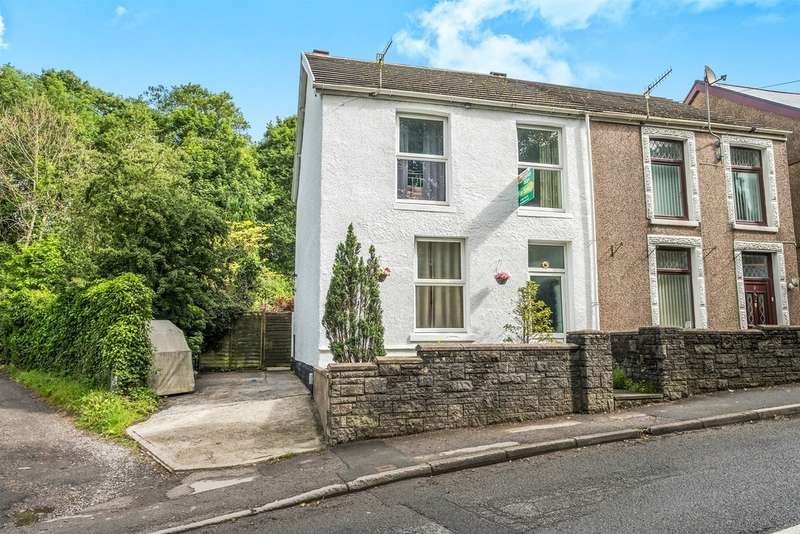 3 Bedrooms Semi Detached House for sale in Dulais Fach Road, Tonna, Neath