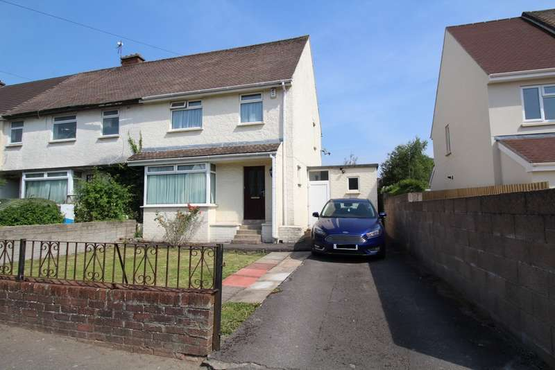 3 Bedrooms End Of Terrace House for sale in Masefield Road, Penarth