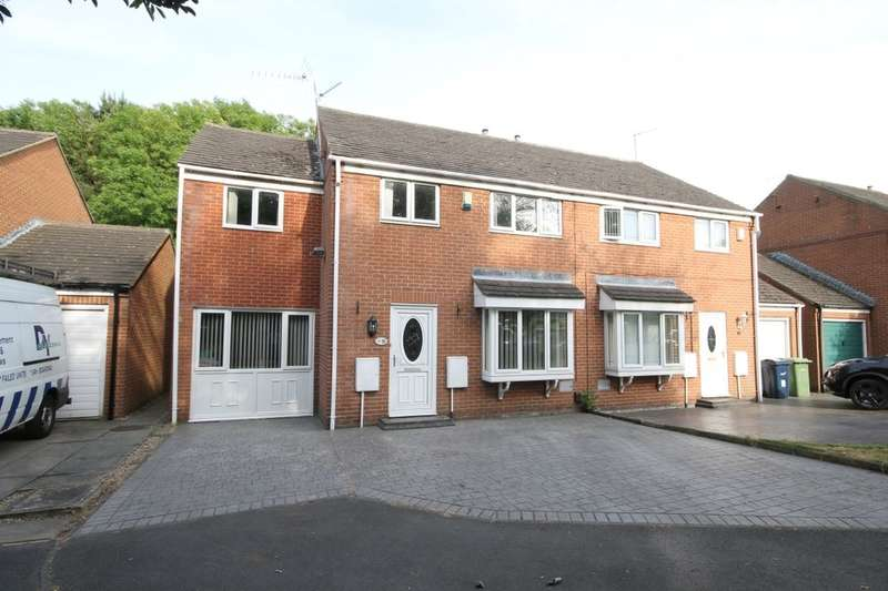 4 Bedrooms Semi Detached House for sale in Watcombe Close, Washington, NE37