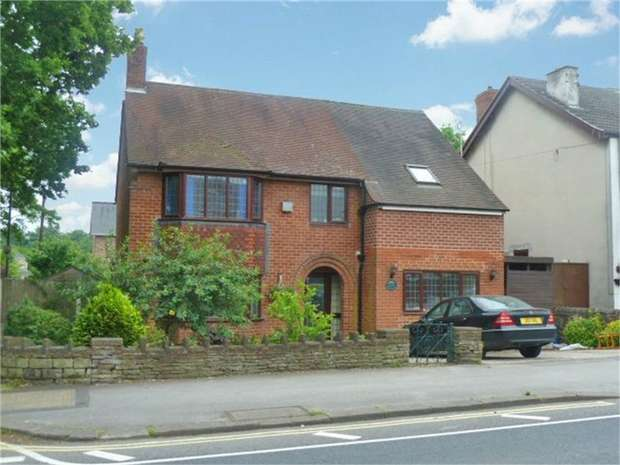 4 Bedrooms Detached House for sale in Chatsworth Road, Chesterfield, Derbyshire