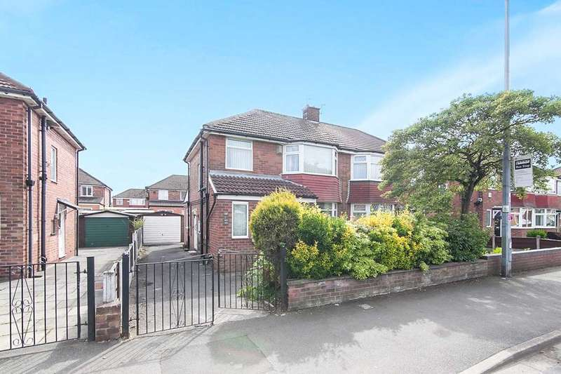 3 Bedrooms Semi Detached House for sale in Mossfield Road, Swinton, Manchester, M27