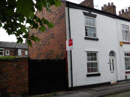 2 Bedrooms End Of Terrace House for sale in Great King Street, Macclesfield, Cheshire