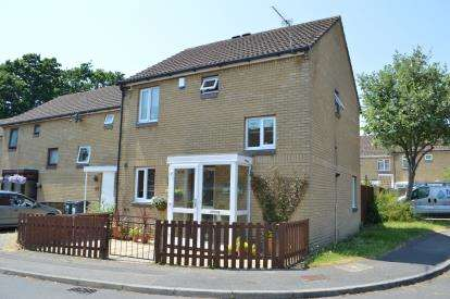 2 Bedrooms End Of Terrace House for sale in Strouden Park, Bournemouth, Dorset