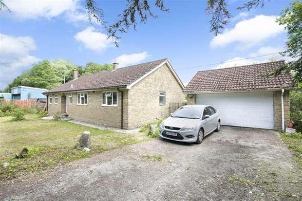 3 Bedrooms Detached Bungalow for sale in West Woodlands, Frome