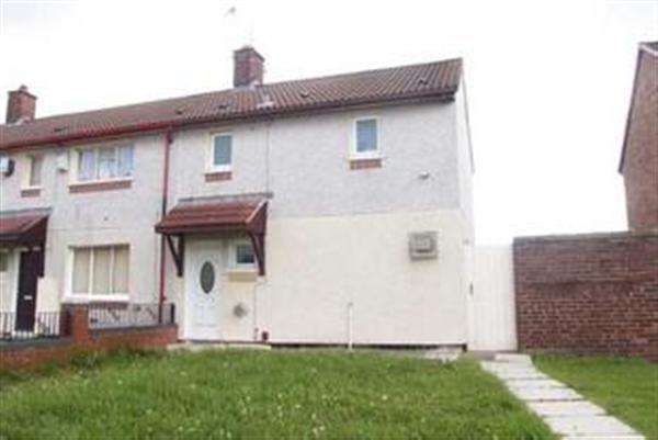 2 Bedrooms End Of Terrace House for sale in Jarrett Walk, Kirkby