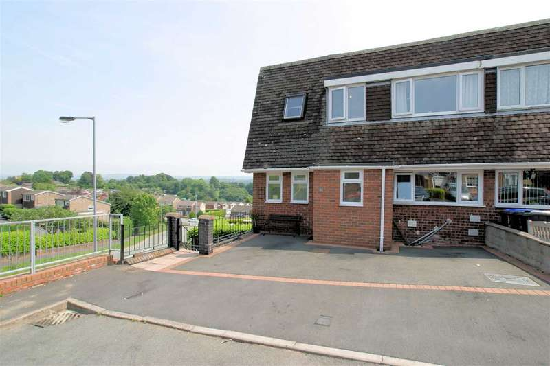 4 Bedrooms Semi Detached House for sale in Gordon Close, Leek