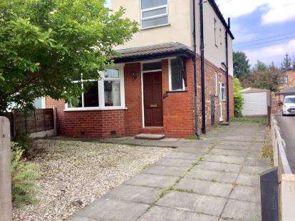 3 Bedrooms Semi Detached House for sale in Ellesmere Road, Altrincham, Greater Manchester, .