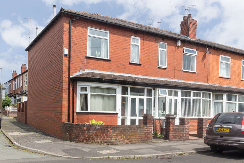 3 Bedrooms End Of Terrace House for sale in Woodhall Road, South Reddish