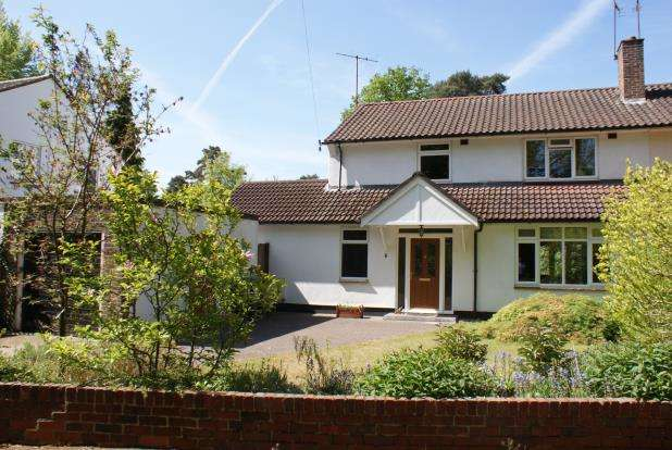 4 Bedrooms Semi Detached House for sale in Woking, Surrey