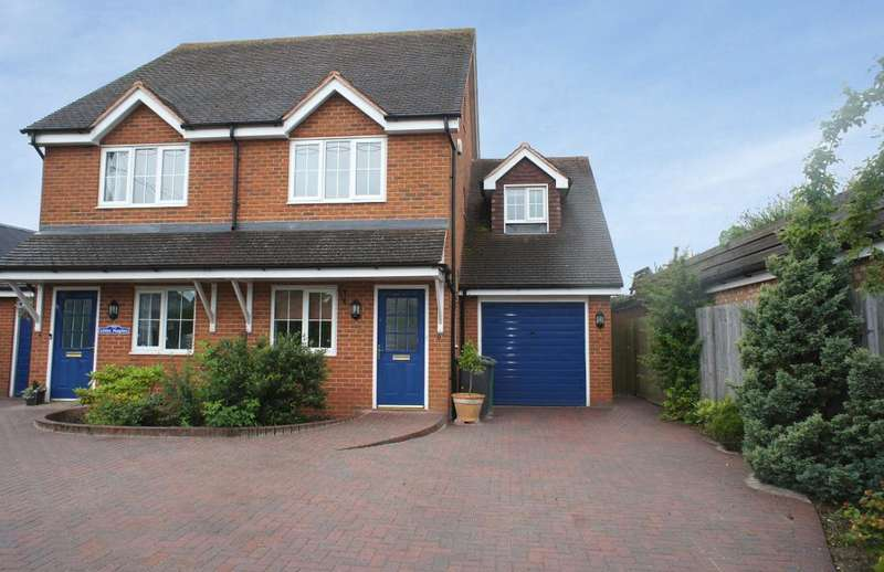 3 Bedrooms Semi Detached House for sale in Hill Road, Oakley, Hampshire, RG23 7JJ