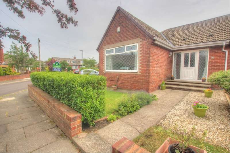 3 Bedrooms Semi Detached Bungalow for sale in Birch Avenue, Gateshead, NE10