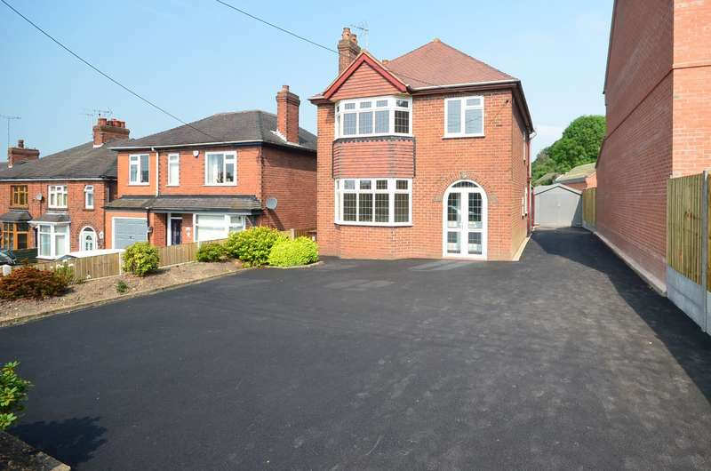 3 Bedrooms Detached House for sale in The Green, Cheadle, ST10 1PH