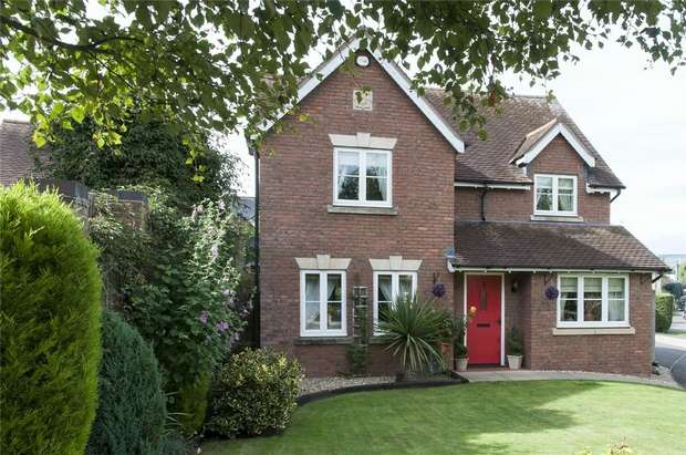 4 Bedrooms Detached House for sale in 3 Dodds Lane, Craven Arms, Shropshire