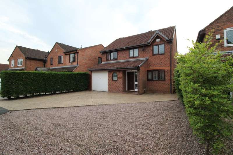 4 Bedrooms Detached House for sale in Hartland Close, Astley,Tyldesley, Manchester, M29