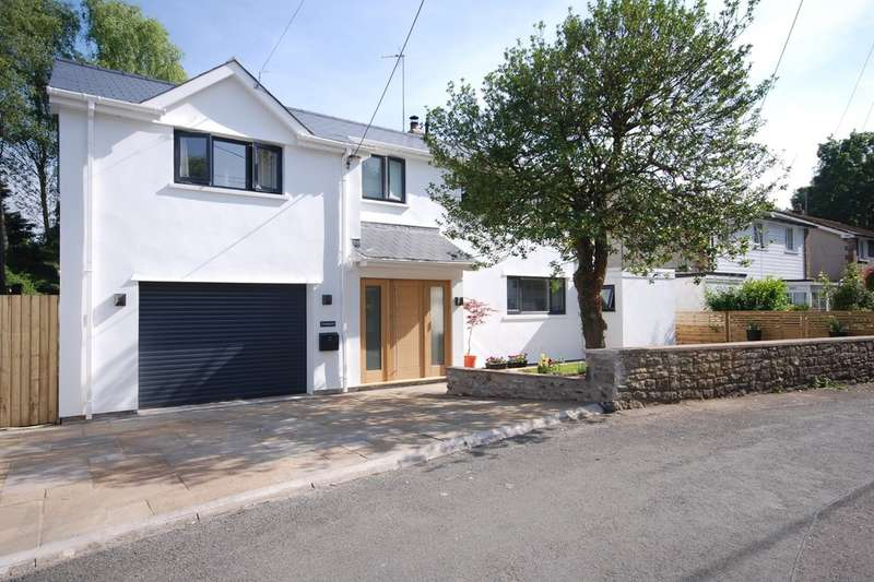 5 Bedrooms Detached House for sale in Piccadilly, Llanblethian, Near Cowbridge, Vale of Glamorgan, CF71 7JL