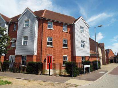 2 Bedrooms Maisonette Flat for sale in Colchester, Essex